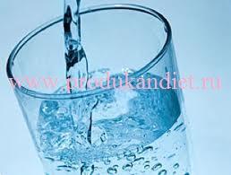 stakan teploj vody