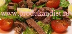 recept salatov s govjadinoj s foto